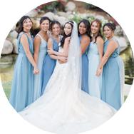 Best Blue Bridesmaid Dresses Canada