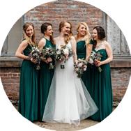 Best Green Bridesmaid Dresses Canada