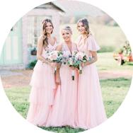 Best Pink Bridesmaid Dresses Canada