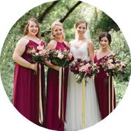 Best Red Bridesmaid Dresses Canada